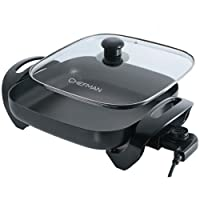 Electric Skillet - Chefman Family Sized 12 inch Electric Skillet (RJ05)