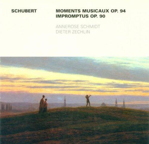 Franz Schubert.: 6 Moments musicaux / 4 Impromputs, Op. 90 (Schmidt, Zechlin)