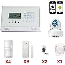 SZABTO Alarma Inteligente Vida sin hilos de la seguridad del ladrón Sistema teclado táctil detector de movimiento del sensor de Pir
