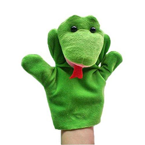 De dibujos animados de la felpa marionetas de mano animales serpiente marionetas de mano