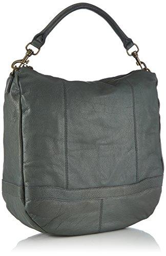 Liebeskind Berlin Ramona Vintage, Sacs portés épaule Femme Gris - Grau (french grey 0492)