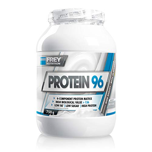 Frey Nutrition Protein 96 Neutral Dose, 1er Pack (1 x 750 g) - Lg Scoop