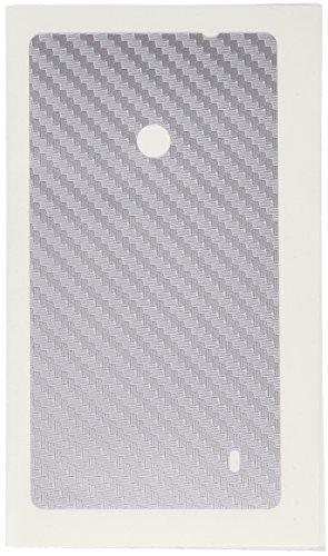 MUZZANO Wandtattoo Nokia Lumia 520[Carbon] [grau] Eingabestift und Reinigungstuch angeboten-Der Schutz Kratzfest ultimative, Elegante und nachhaltige für Ihr Nokia Lumia 520