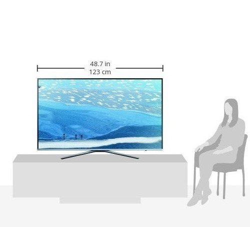 Samsung UE55KU6409 138 cm (55 Zoll) 4kFernseher - 8