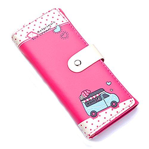WiTa-Store, Borsa bowling donna, Hot Pink (rosa) - 4060131048940 Hot Pink