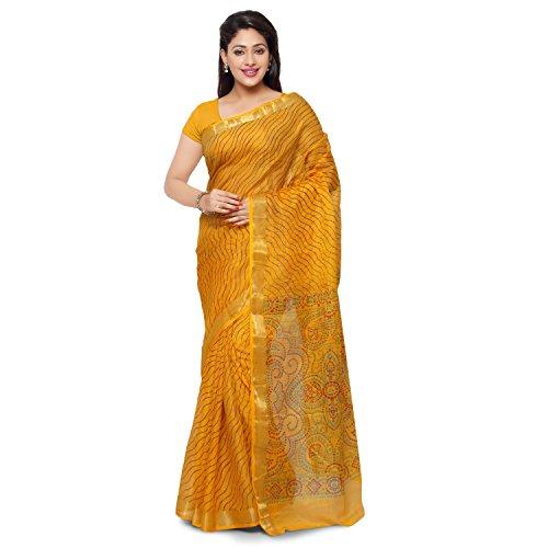 Rajnandini Cotton Silk Saree (Joplsrs1080A_Yellow)