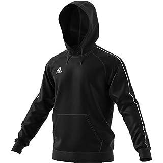 adidas Herren CORE18 Hoody Sweatshirt Black/White L