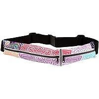 DaoRier Cinturón con Bandas para Correr, Riñonera Cinturón Deportivo Impermeable para Phone para Fitness Viaje o Deportes al Aire Libre
