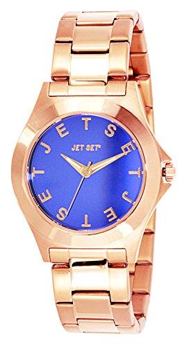 Jet Set J5979R-332 - Reloj de pulsera mujer, acero inoxidable, color rosa