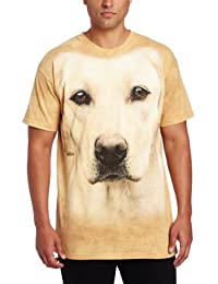 The Mountain Adulte Chien Portrait De Labrador Jaune T Shirt