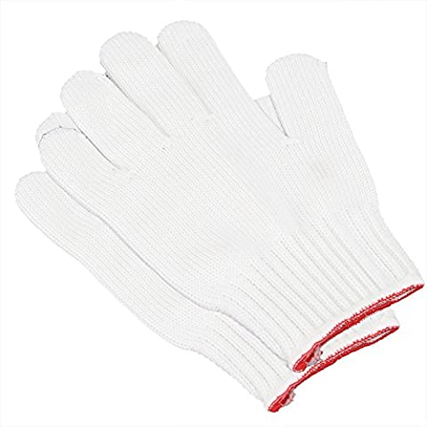 Merssavo Heat Resistant Gloves Burn Heat Proof Hand Protection BBQ Oven Kitchen Mitts