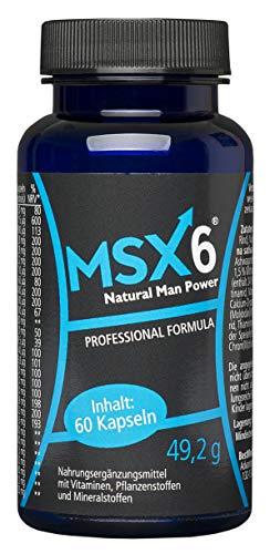 MSX6 | Für Männer | Hochdosiert, 60 Kapseln