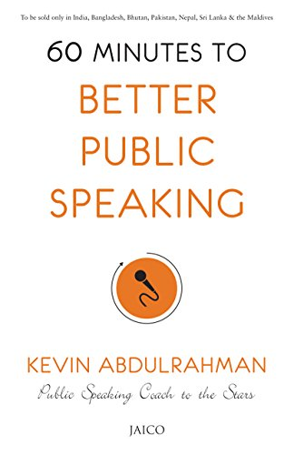60 Minutes to Better Public Speaking por Kevin Abdulrahman