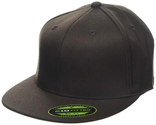 Flexfit Erwachsene Mütze Premium 210 Fitted, braun (brown), L/XL