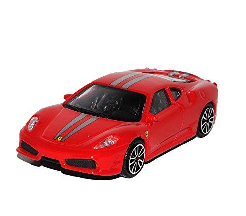 430 Coupe (Ferrari F430 Scuderia Coupe Rot 2004-2009 1/43 Bburago Modell Auto)