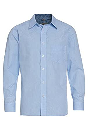 Gato Negro Langärmliges Jungen Hemd einfarbig