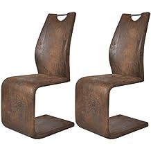 Amazon.it: sedie moderne design - Marrone
