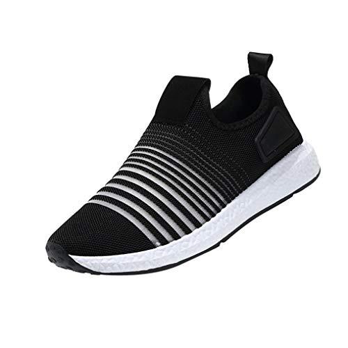 Chaussures de Sports Homme CIELLTE Sneakers Chaussures de Course Baskets Impression Respirantes Multisports Running Léger Chaussures Plates