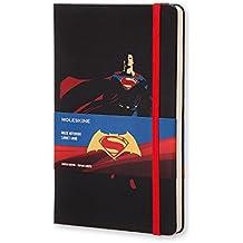 Moleskine Taccuino Batman Contro Superman Edizione Superman, Large, Nero