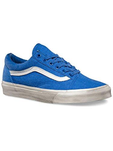Herren nautical blu Blau overwashed Skool Old Plateau Vans Aqaww8