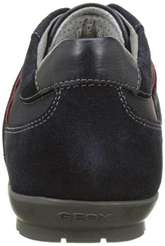 Geox Herren Uomo Symbol A Sneakers Blau (Navyc4002)