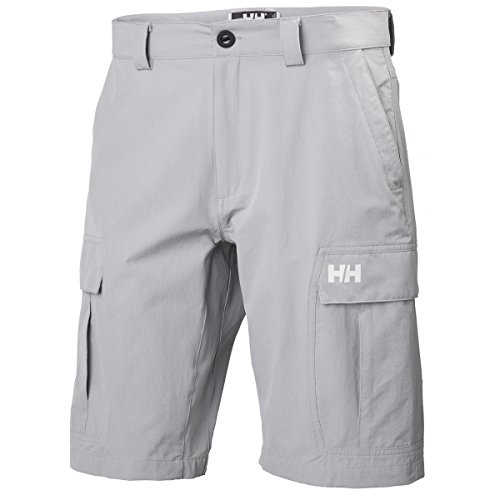 "Red Helly Hansen Herren Shorts Qd 11 "" silbergrau"