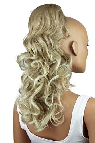 PRETTYSHOP 55cm Haarteil Zopf Pferdeschwanz Haarverdichtung Haarverlängerung VOLUMINÖS hellblond #24T88 PH13