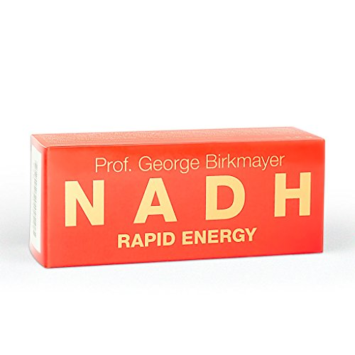 Prof. George Birkmayer NADH – Rapid Energy (60 Tabletten, 20 mg NADH / Coenzym 1 pro Tablette)