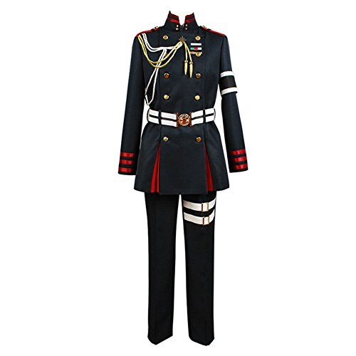 Seraph of The End Guren Ichinose Uniform Cosplay Kostüm Herren XL (Chinesische General Kostüm)
