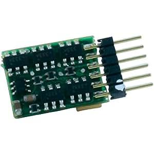Kuehn H28602 Décodeur numérique N025 à 6 pôles pour modèles réduits taille N