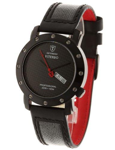 Detomaso Viterbo Black Carbon DT1021-A Gents Watch