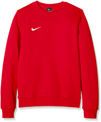 Nike Herren Sweatshirt Team Club Crew, Rot (University Red/football White), XL