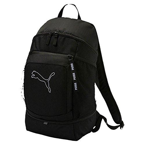 Puma Echo–Mochila Backpack 075107, mujer, Puma Black, talla única
