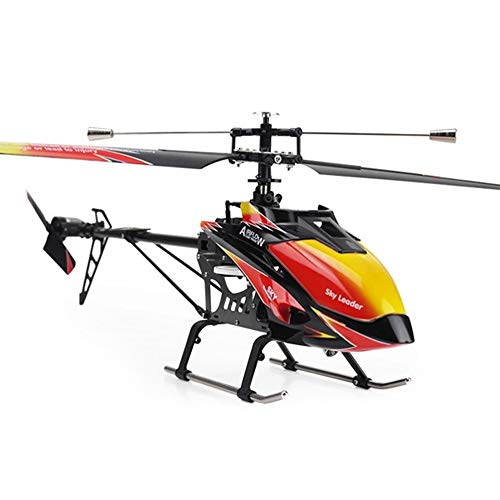 Pinjeer 2.4 GHz 4 Channels Single-Helix RC Helicopter 70 Built-in Gyro Toys RC Helicopter Model with LCD transmitter Educational toys Children's birthday gifts for 14 +