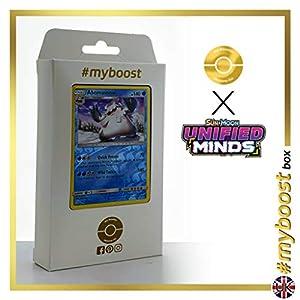 Abomasnow 42/236 Holo Reverse - #myboost X Sun & Moon 11 Unified Minds - Box de 10 cartas Pokémon Inglesas
