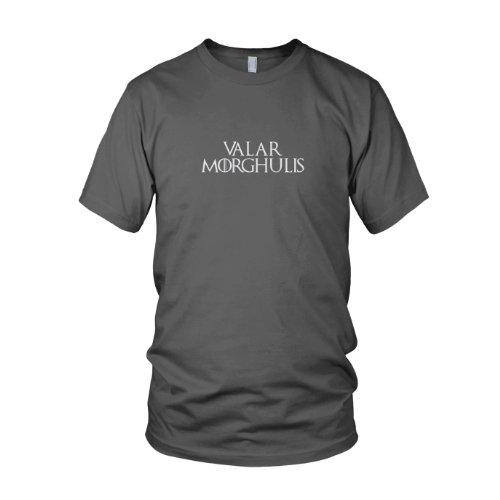 Jon Kostüm Snow Khaleesi Und (GoT: Valar Morghulis - Herren T-Shirt, Größe: M, Farbe:)