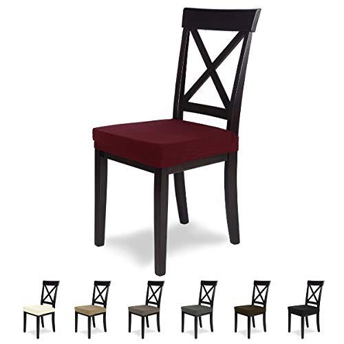 SCHEFFLER-Home MIA Microfibra 2 Fundas para Asiento de sillas, Estirable Cubiertas, Funda...