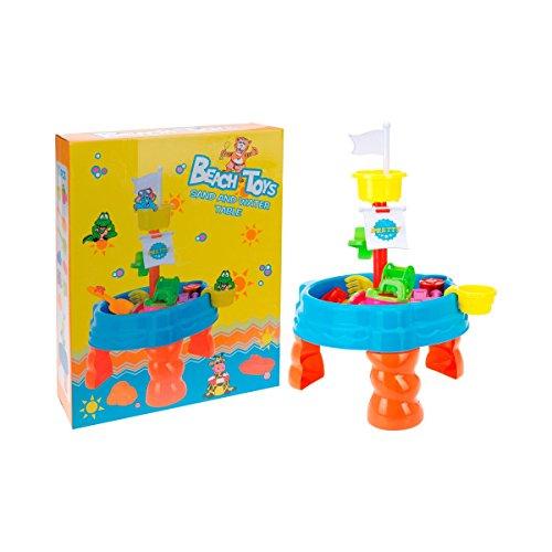 BABY-WALZ Sand- & Wasserspieltisch mit Zubehör mehrfarbig OneSize