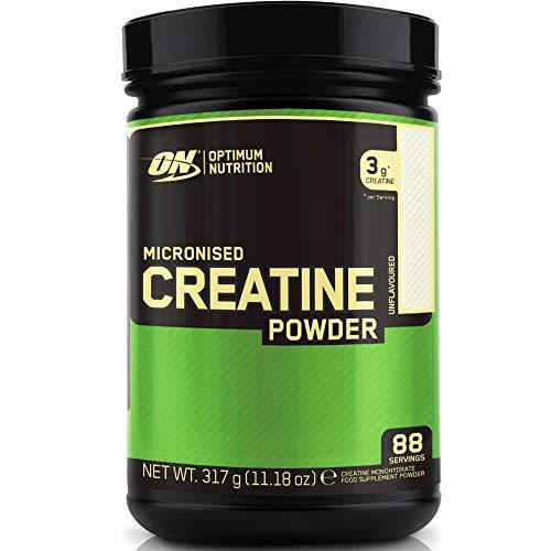 Optimum Nutrition Micronised Creatine Monohydrate - non aromatisé, 88 Portions - Creatine monohydrate, 317 g