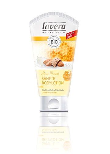 Lavera Sanfte Bodylotion Bio-Mandelmilch und Honig, 2er Pack (2 x 150 ml) -