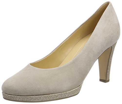 Gabor Shoes Damen Fashion Pumps, Beige (Beige/Honey), 39 EU