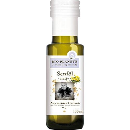 Bio Planete Bio Senföl nativ aus deutscher Herkunft (1 x 100 ml)