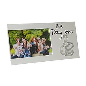 Bilderrahmen für ein Foto mit Spruch –Best Day Ever