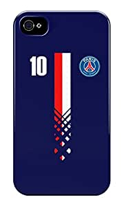 The Fappy Store Paris Saint-Germain Design Plastic Back Cover For Iphone 4 & 4S