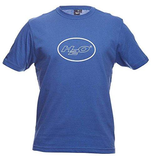 H2O Bubble Logo T-Shirt royal blau AM standard, S (Logo Bubble T-shirt)