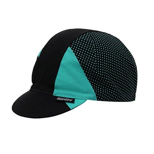 Santini Damen Cotton Radsport-Mütze, Aqua, Einheitsgröße