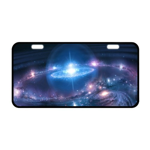 space-nebula-license-plate-with-high-resolution-images-118-x-61-inches-black-trim