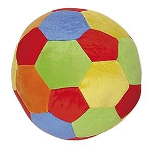 Bieco 11001415 - Veloursball mit Rassel ca. 25 cm