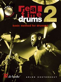 Real Time Drums Level 2 Book & 2 Cds