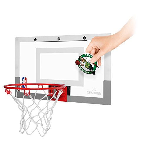 Spalding NBA Slam Jam Board - Tablero de pared de baloncesto, color incoloro, 45.5 x 26.7 cm
